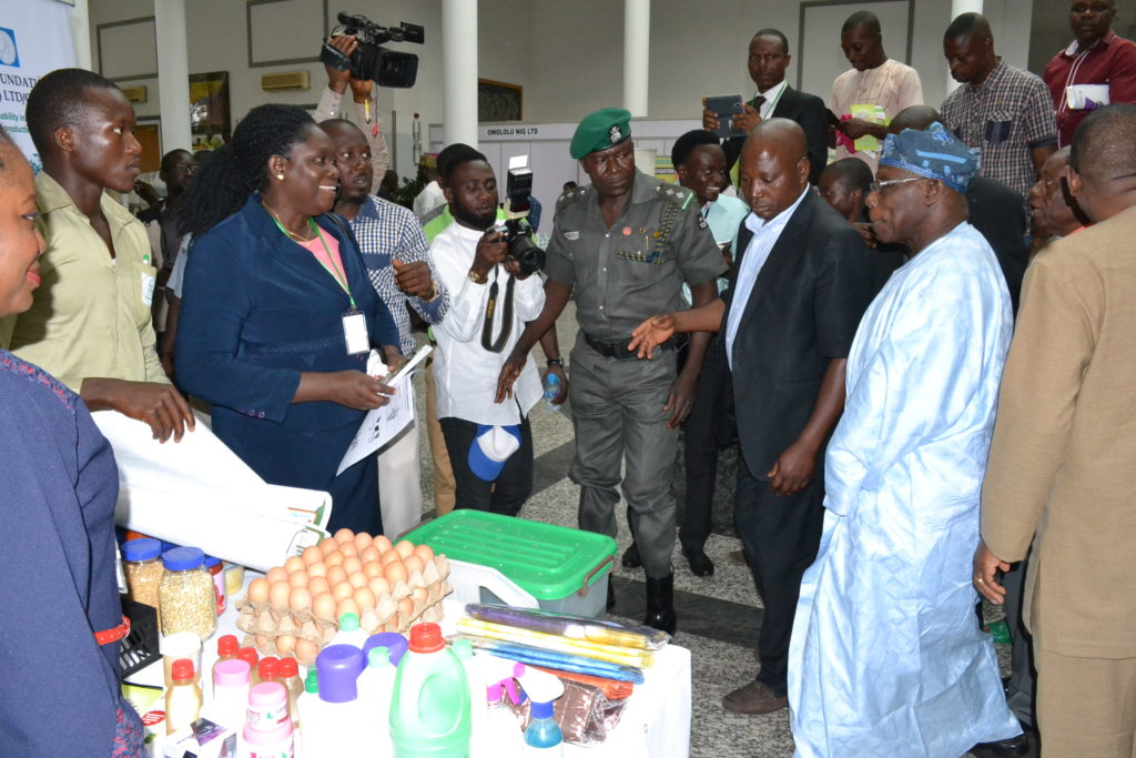 Ex- President and Mrs Agnes (Principal of Yaba, Abuja Training School