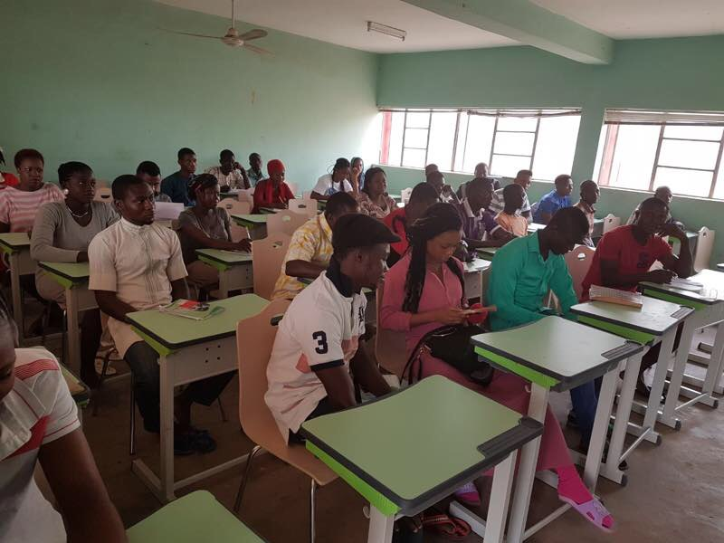 Short Training Course at Yaba
