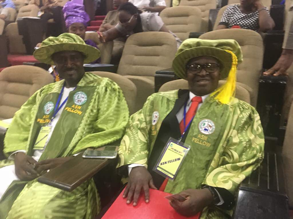 Members of LFN Technical Advisory Panel become Fellows of Agricultural Society of Nigeria