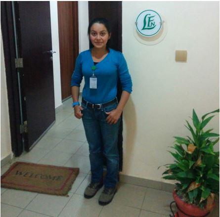 Aura Cristina – Intern from Earth University