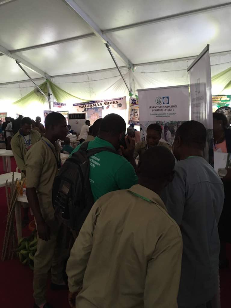 Leventis Foundation Nigeria at the 2017 Nation-Wide MSME Business Clinic