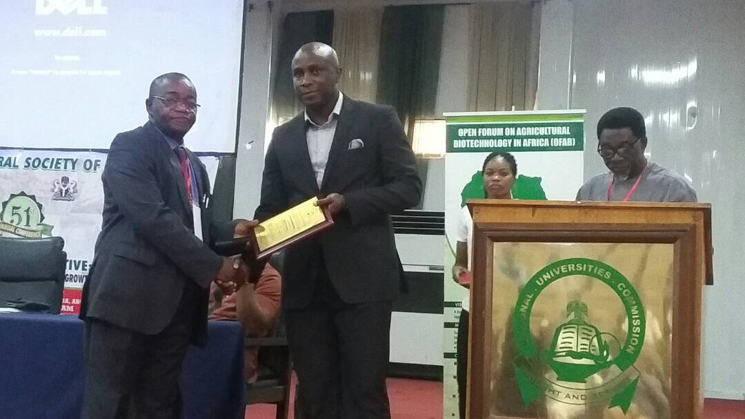 Leventis Foundation Nigeria Earns Award of Excellence from Agricultural Society of Nigeria