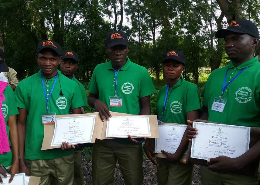 Graduation of N2 Africa Trainees from Borno State