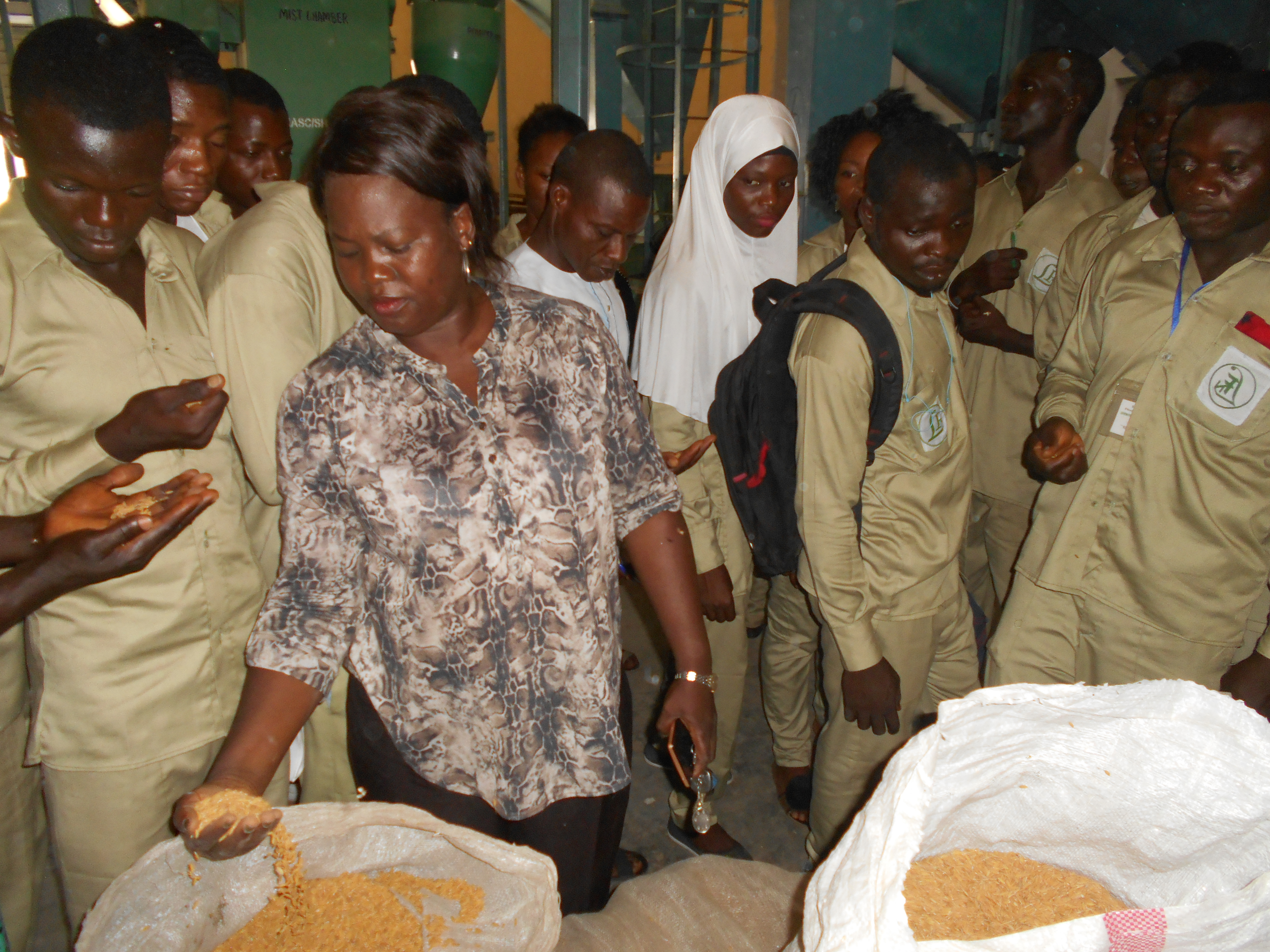 TRAINEES EXCURSION TO THE NATIONAL AGRICULTURAL SEEDS COUNCIL (NASC)