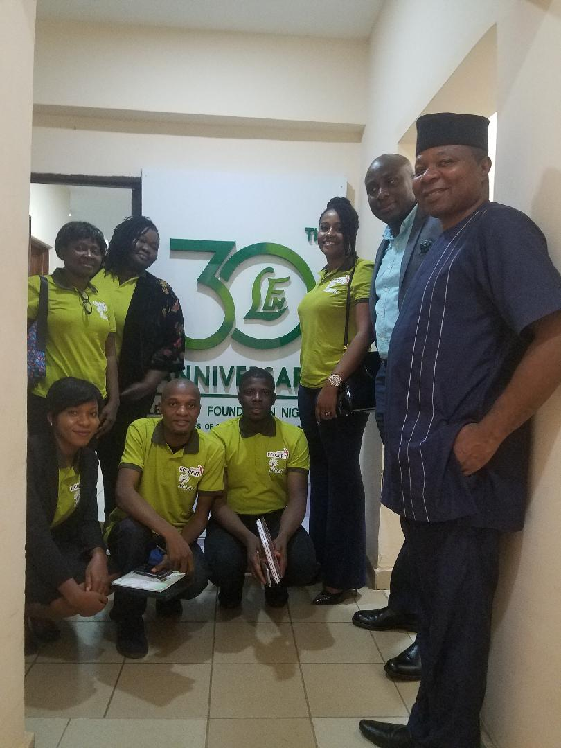 LEVENTIS FOUNDATION NIGERIA AND NICERT ENVISIONS PARTNERSHIP IN ORGANIC PRODUCT CERTIFICATION