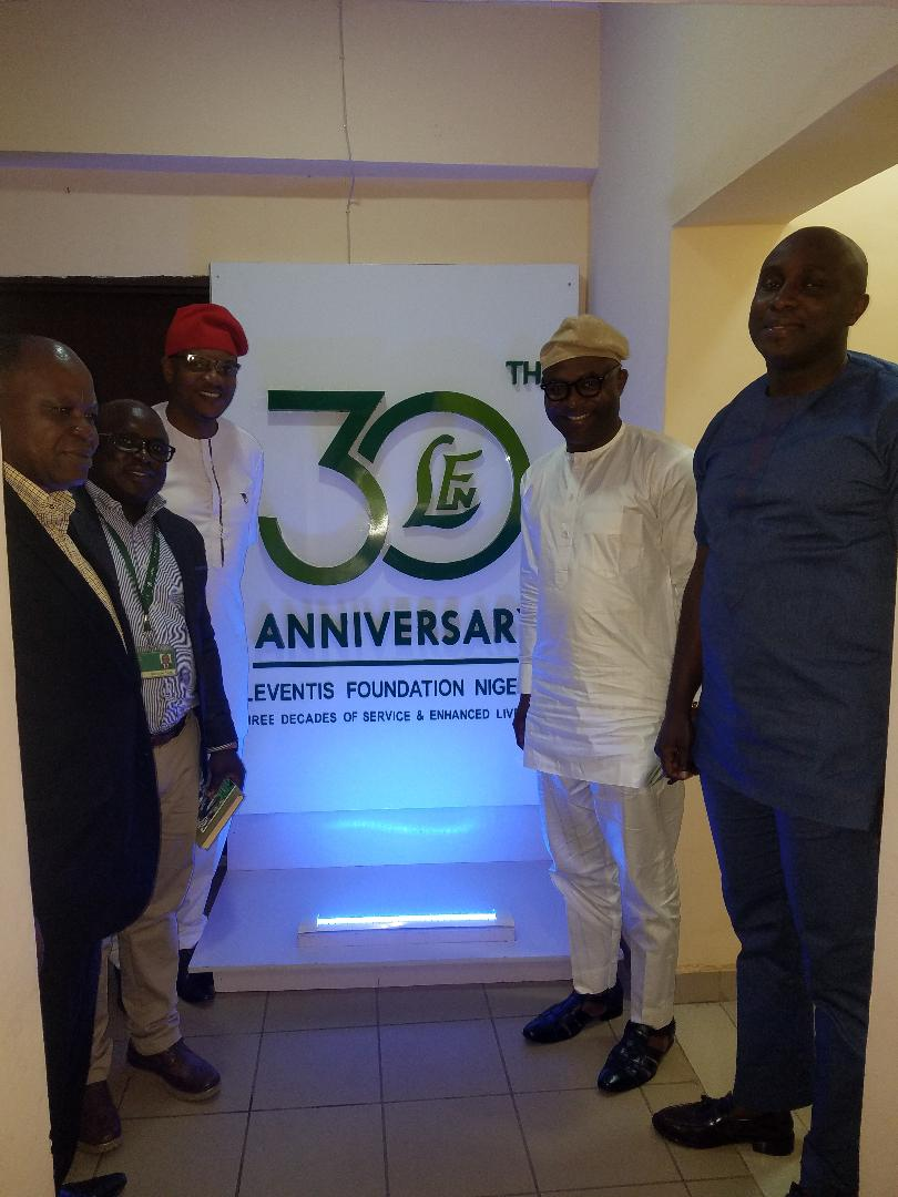 Old Mutual Nigeria Management Staff visits Leventis Foundation Nigeria