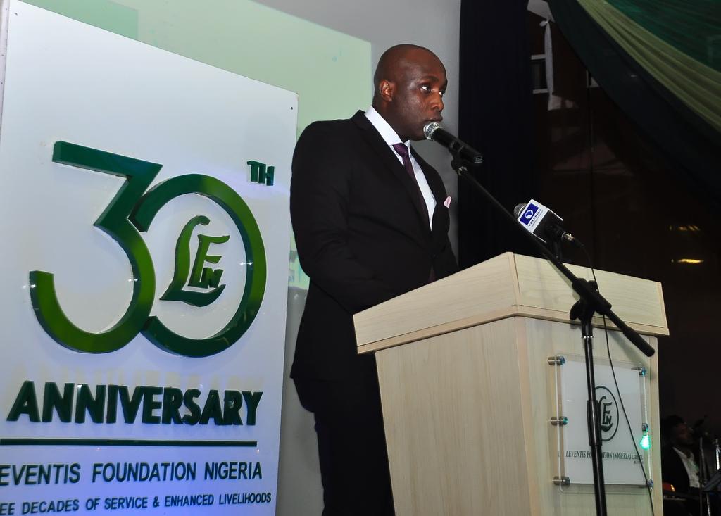 ED, Hope Usieta giving His Speech